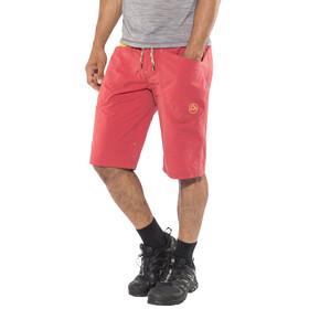 La Sportiva M's Leader Shorts Cardinal Red/Lemonade